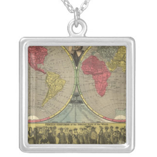 The World At One View Silver Plated Necklace