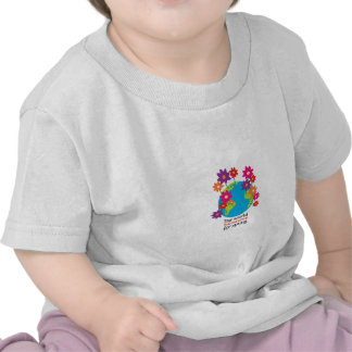 The World Blooms For Spiring. T-shirts