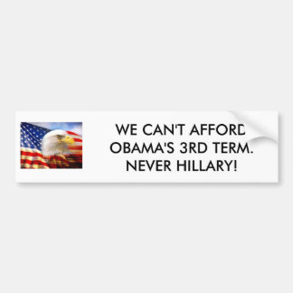 THE WORLD CAN'T STAND MORE LIBERAL GARBAGE. BUMPER STICKER
