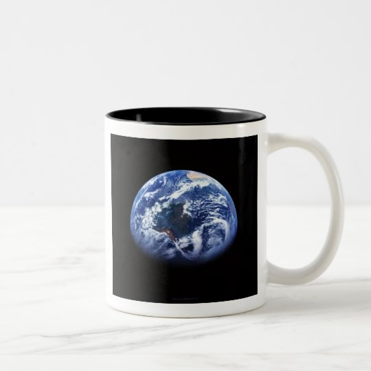 The World Cup - Earth from Space Large Coffee Mug