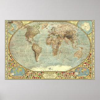 The World - Decorative Poster