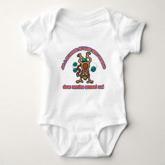 The World does revolve around me Baby Bodysuit