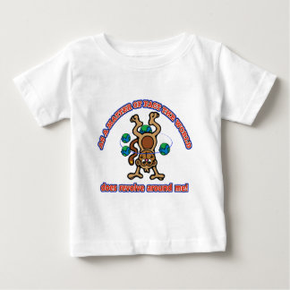 The World does revolve around me Baby T-Shirt