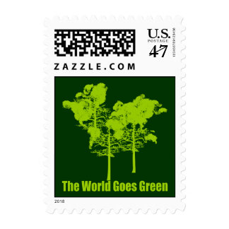 The World Goes Green Postage