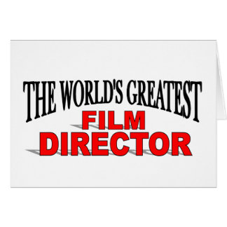 The World&' Greatest Film Director Card