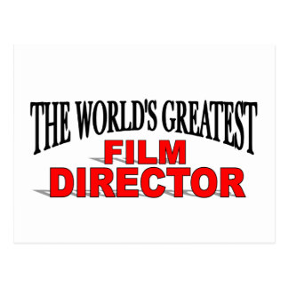 The World&' Greatest Film Director Postcard