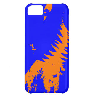 The World Grows Smaller - Orange and Blue iPhone 5 Cover For iPhone 5C
