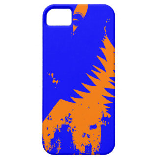 The World Grows Smaller - Orange and Blue iPhone 5 iPhone SE/5/5s Case