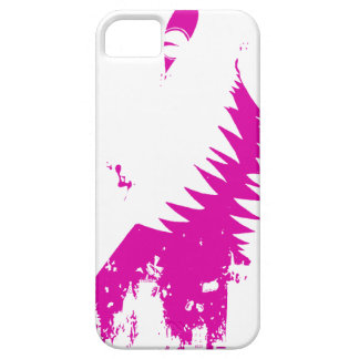 The World Grows Smaller - Purple on White iPhone SE/5/5s Case