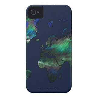 The World in Blues iPhone 4 Case-Mate Case