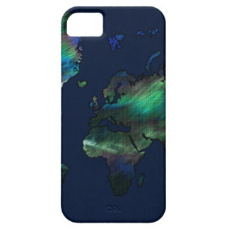 The World in Blues iPhone SE/5/5s Case