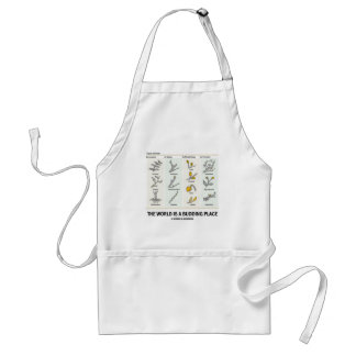 The World Is A Budding Place (Types Of Buds) Adult Apron