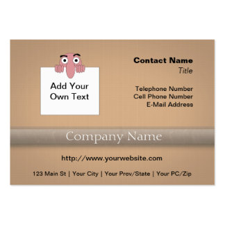The World is Filled With <Your Age> Year Olds Business Card Template