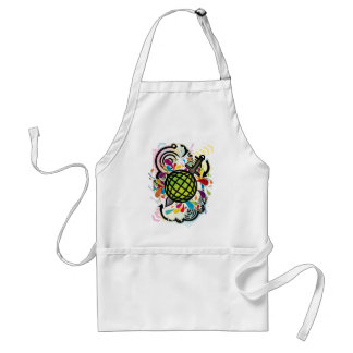 THE_WORLD_IS_MINE ADULT APRON