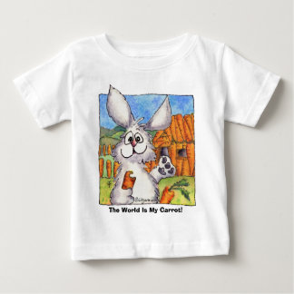 The World Is My Carrot! Baby T-Shirt