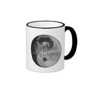 The World Is My Dojang - Lake Country Martial Arts Ringer Coffee Mug