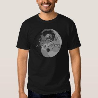 The World Is My Dojang Tshirts