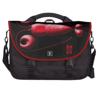 The World is My Lobster with Heart-Shaped Pincers Laptop Bags