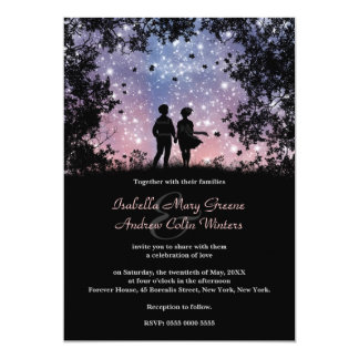 The World Is Ours - Borealis Version - Wedding Card