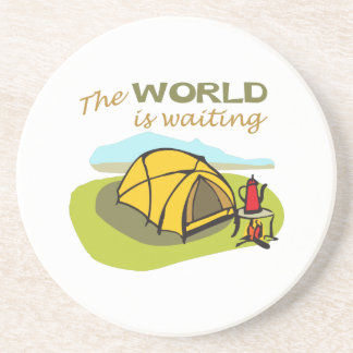 THE WORLD IS WAITING COASTERS