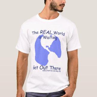 The World is Waiting t-shirt (light)