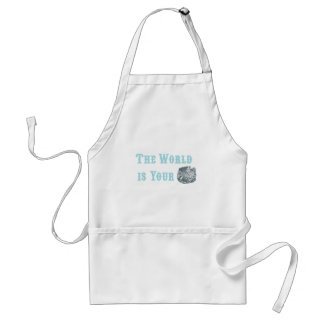The World is Your Oyster Apron