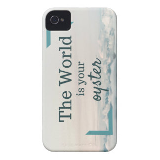 The World Is Your Oyster iPhone 4 Case-Mate Case