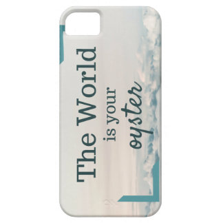 The World Is Your Oyster iPhone SE/5/5s Case