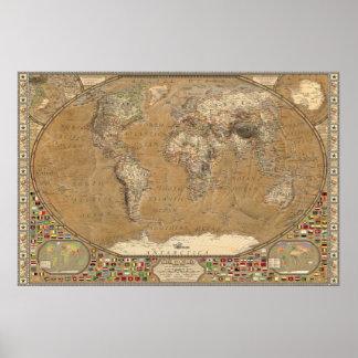 The World - Livingstone Poster