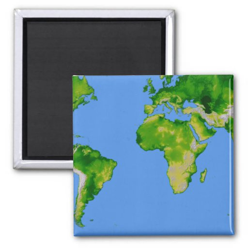 The World Refrigerator Magnets