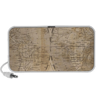 The World Map by Arrowsmith Laptop Speakers