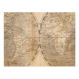 The World Map by Arrowsmith Postcard