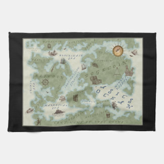 The World Map of Cryptocurrency Towel