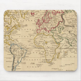 The World, Mercator's Projection Mouse Pad
