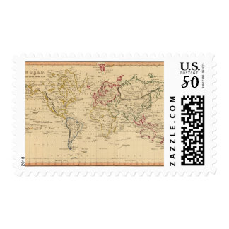 The World, Mercator's Projection Postage
