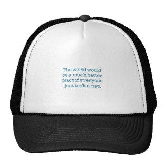 The World Needs A Nap Hat