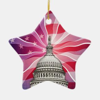 The World of Politics Ceramic Ornament
