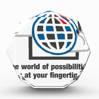 The World Of Possibilities Is At Your Fingertips Award