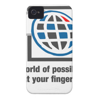 The World Of Possibilities Is At Your Fingertips iPhone 4 Case