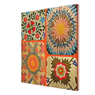 THE WORLD OF QUILTS CANVAS PRINT