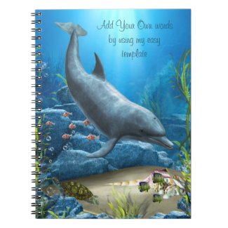 The world of the Dolphin Notebook notebook