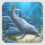 The world of the Dolphin Sticker