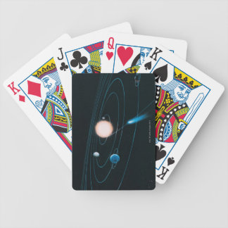 The World of the Inner Solar System Bicycle Playing Cards