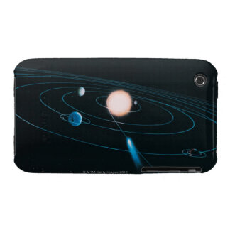 The World of the Inner Solar System Case-Mate iPhone 3 Case