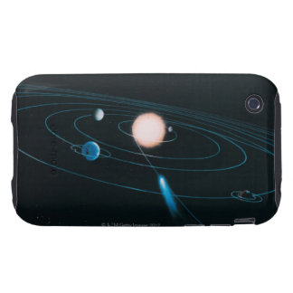 The World of the Inner Solar System Tough iPhone 3 Cover