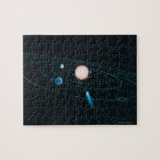 The World of the Inner Solar System Jigsaw Puzzle