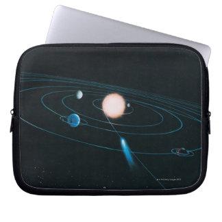 The World of the Inner Solar System Laptop Sleeve