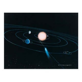 The World of the Inner Solar System Postcard