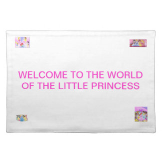 THE WORLD OF THE LITTLE PRINCESS PLACEMAT