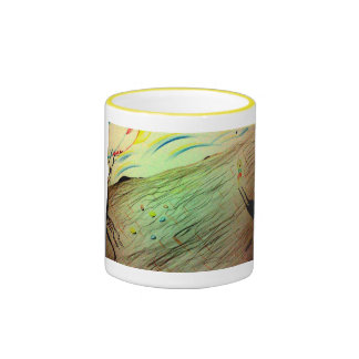 The world of the painter coffee mugs
